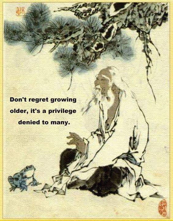 growing old is a privilage