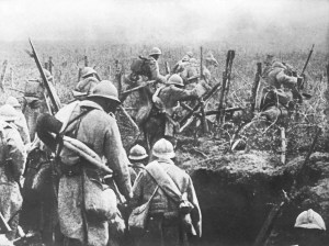 1916 Verdun in the trenches