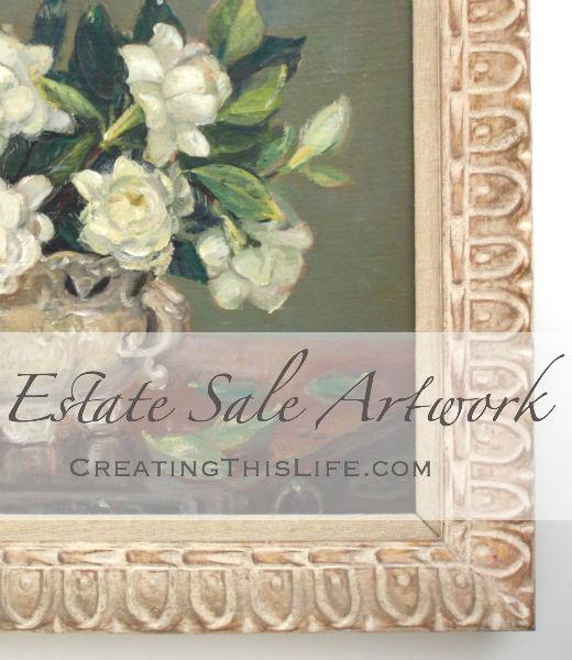Estate Sale Artwork Title
