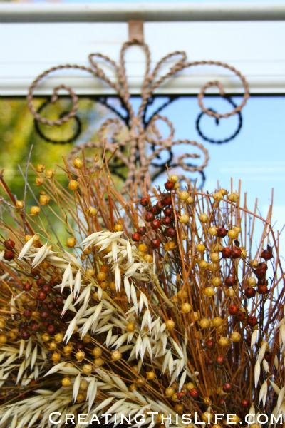 Fall Wreath Hanger