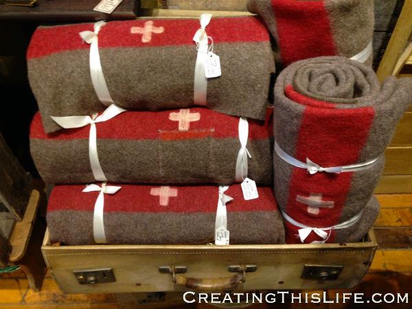 Antique Wool Blanket