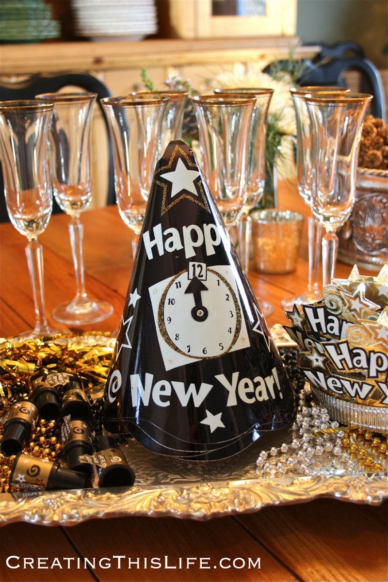 New Years Eve at CreatingThisLife.com