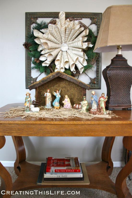 Family Room Nativity