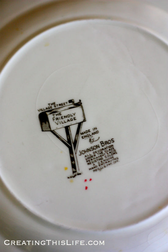 Friendly Village Transferware