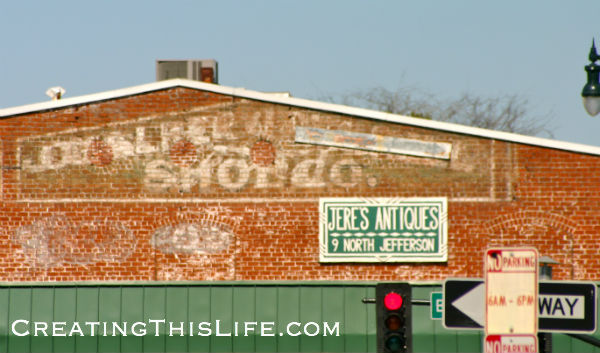 Savannah Ghost Sign