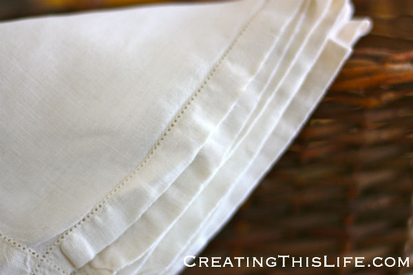 hemstitch closeup