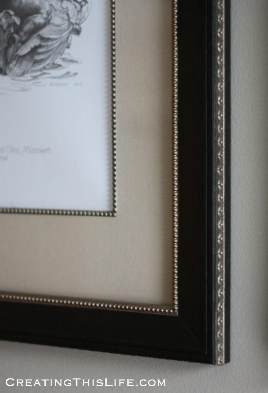 Frame closeup