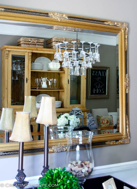 Dining room reflection
