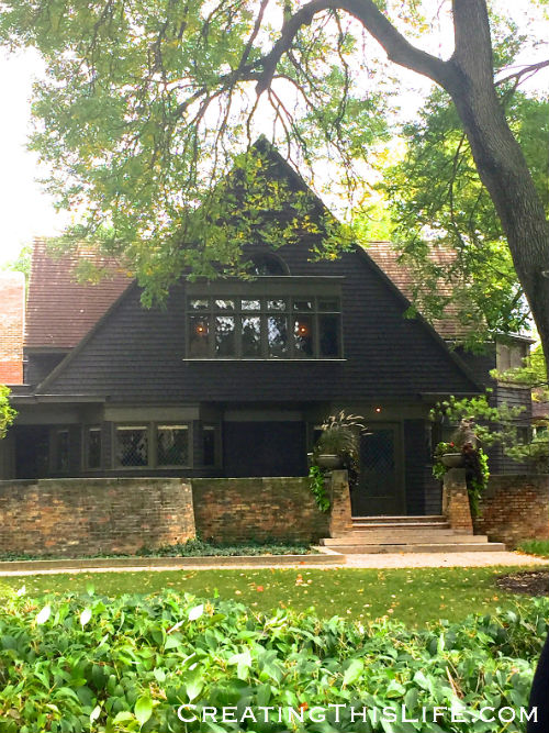 Frank Lloyd Wright home in Oak Park IL