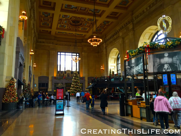 Kansas City's Union Station at Christmas