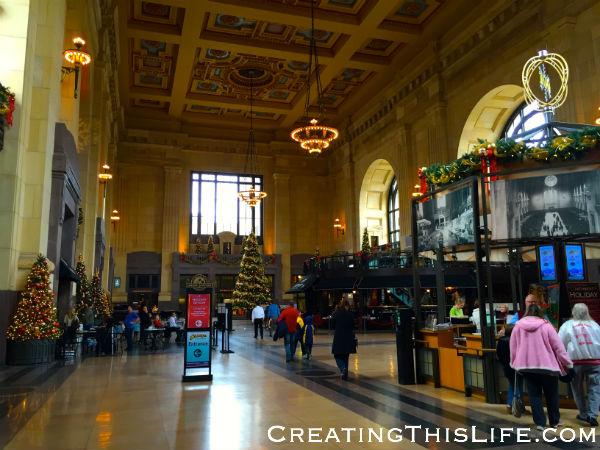 Kansas City's Union Station at Christmas