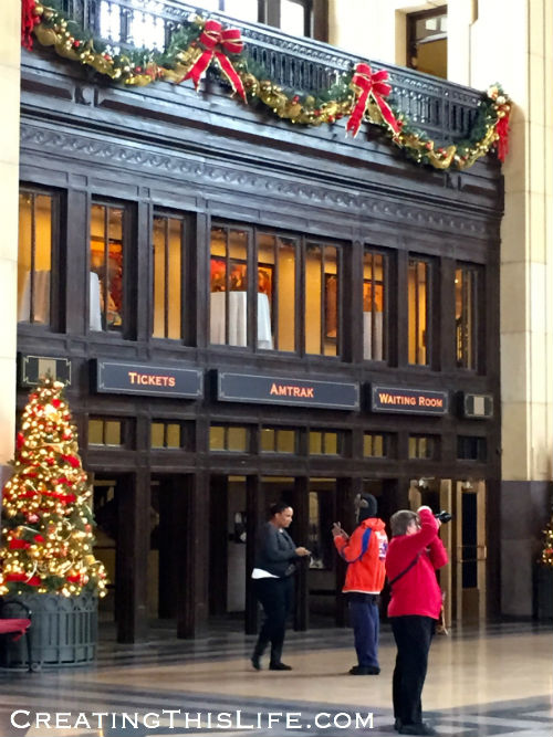 Union Station in Kansas City at Christmas