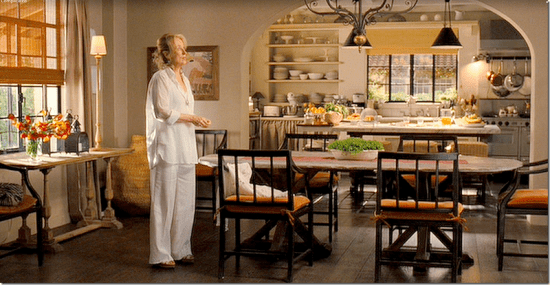 Its Complicated Meryl Streep kitchen