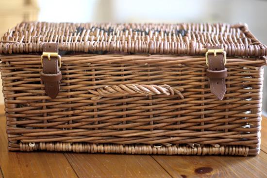 fortnum and Mason wicker basket