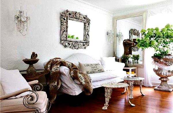 french inspired living room