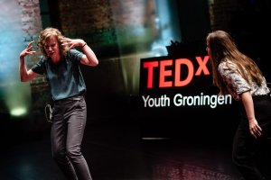 TED talk:  'Using improv to move forward'