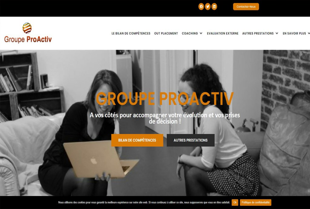 site groupe proactiv