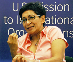 Malaysian physicist Mazlan Othman, who is not going to be an 'ET ambassador' for the UN, although she clearly believes that real aliens could visit the earth.
