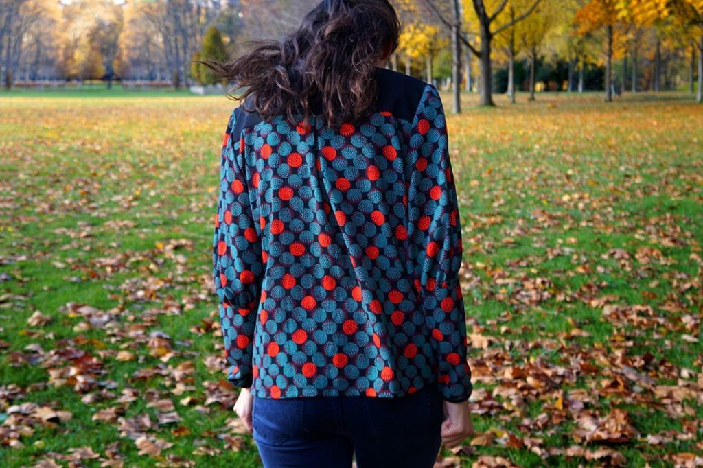 NATI - créations d'une rêveuse | Créatrice de mode | Annecy & Villaz | chemise Julia - automne hiver 2018