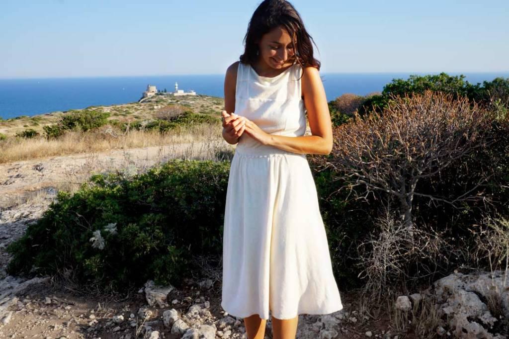 NATI - créations d'une rêveuse | Créatrice de mode | Annecy & Villaz | robe Mélinda - modèle écologique