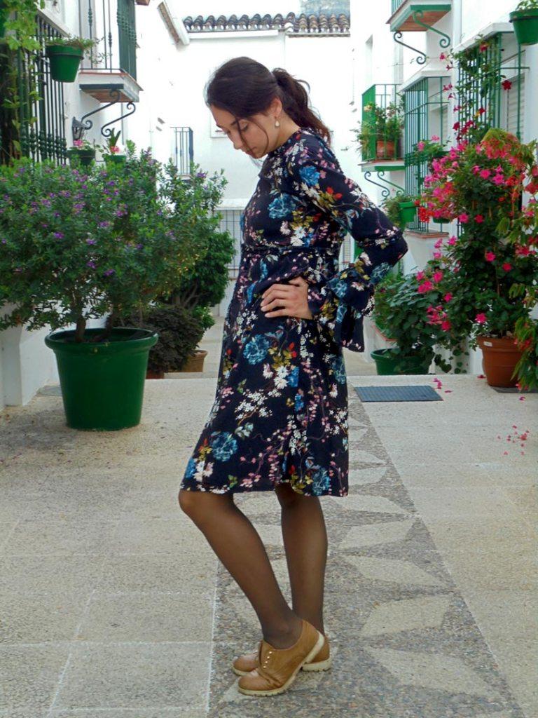 NATI - créations d'une rêveuse | Créatrice de mode | Annecy & Villaz | Robe Fiona - automne hiver 2019