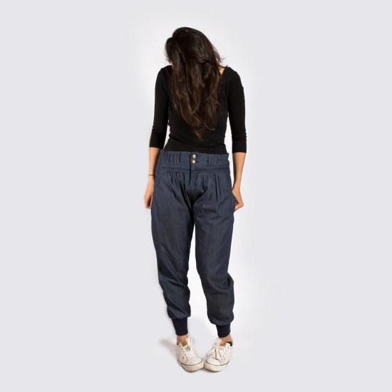 NATI - créations d'une rêveuse | Créatrice de mode | Annecy & Villaz | Boutique | Sarouel Chambao - printemps été 2019