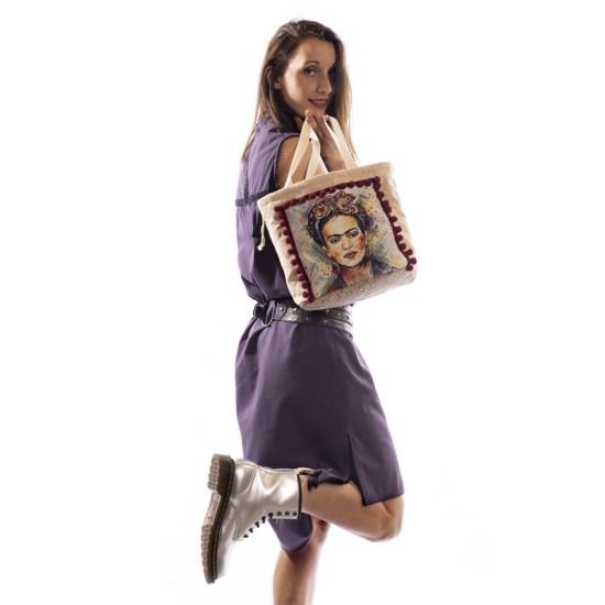 NATI - vêtements pour femme, prêt à porter féminin & sur-mesure à Annecy & Villaz | Boutique | Sac Kahlo - Printemps-Été 2020