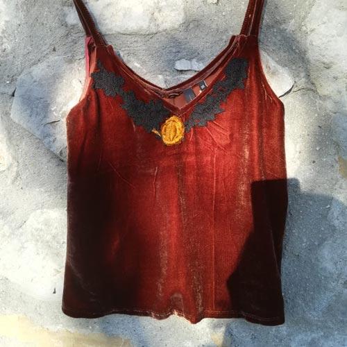 NATI, créations d'une rêveuse - prêt à porter féminin, vêtements pour femmes - collection automne hiver 2020 - Le top Lydia