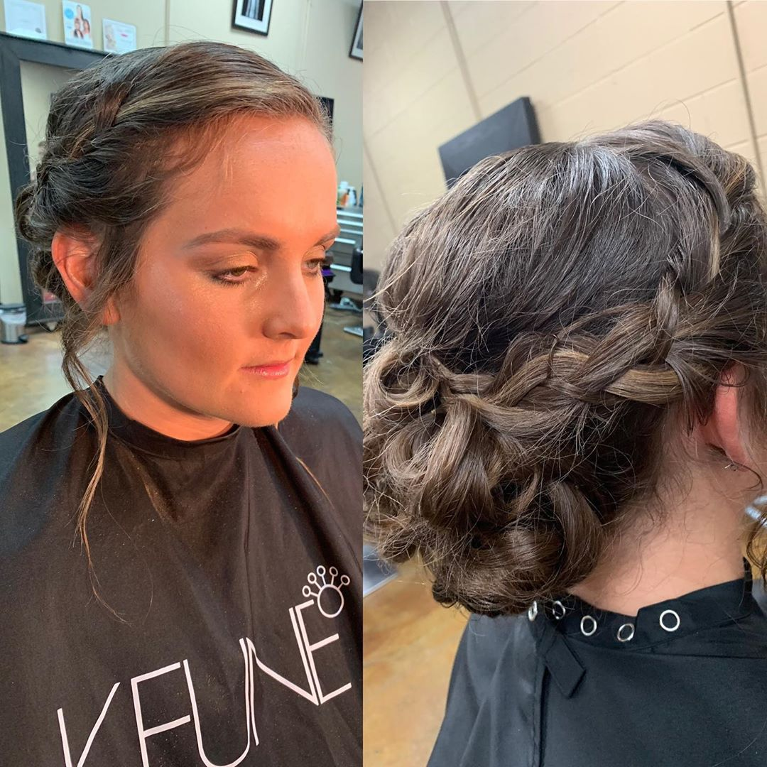 hair updo in Greenville SC