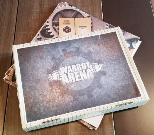 Boite du prototype Warbot Arena