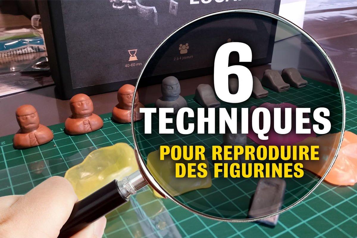 6 techniques pour reproduire des figurines