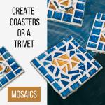 Mosaic Coasters Or Trivet Creation Nation