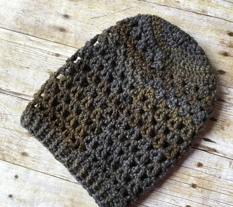 Airy Vee Slouch Crochet Pattern