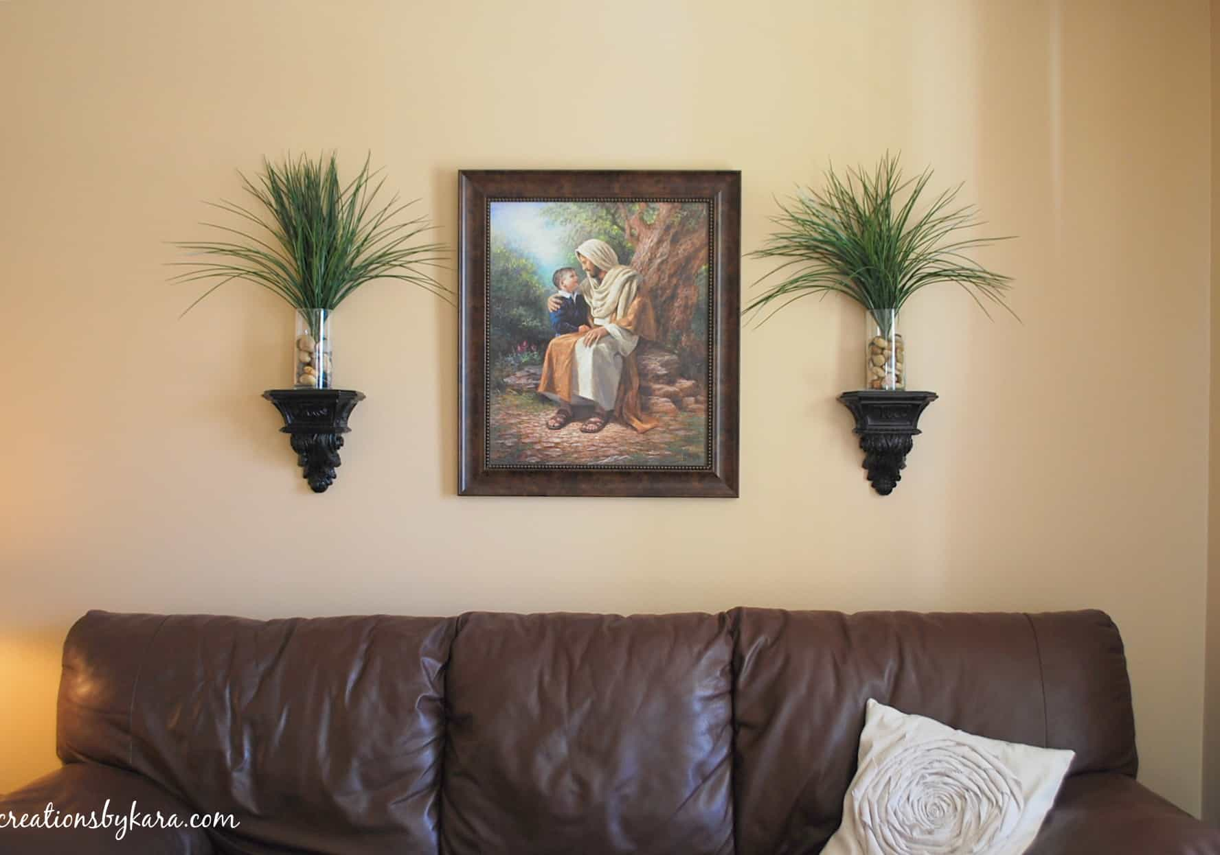 Hanging Wood Trim In My Living Room