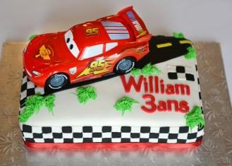 Gâteau de Flash McQueen