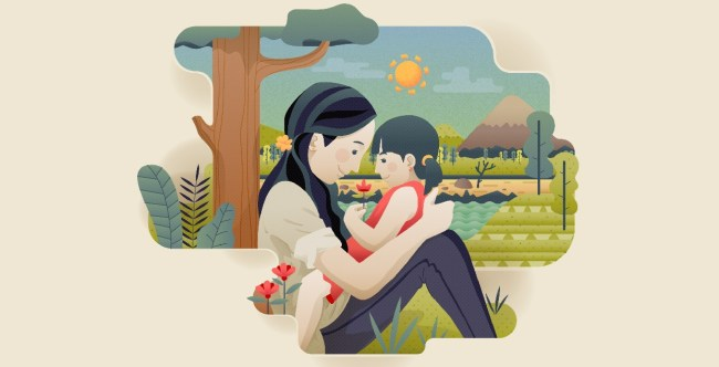 Mother and Daughter: Designed by FreePik