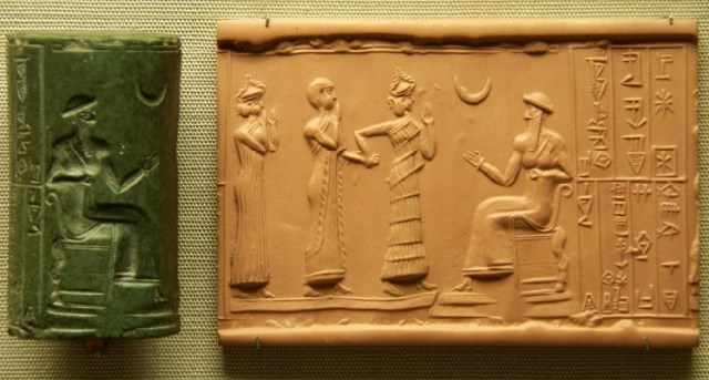 Sumerian Cylinder Seal, Flickr, Steve Harris