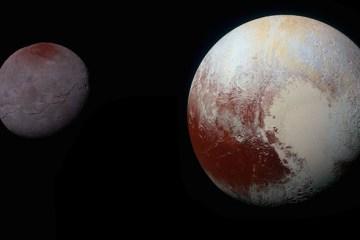 NASA: Pluto and Charon composite