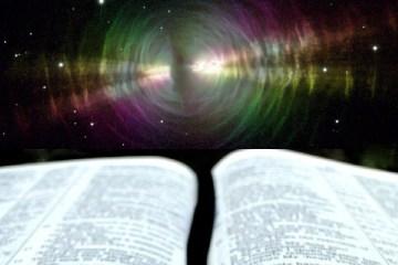 Bible and Nebula Rays