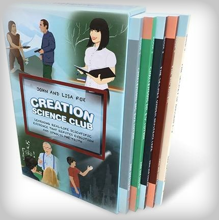Creation Science Club book set; Affliate link