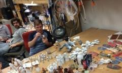 Design Studio with painters
