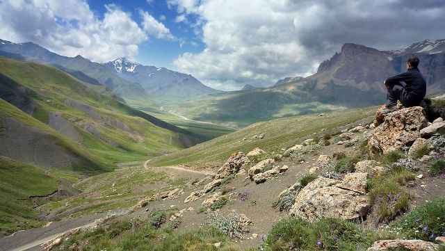 Azerbajiani landscape, Photo Credit: Matthew Hadley