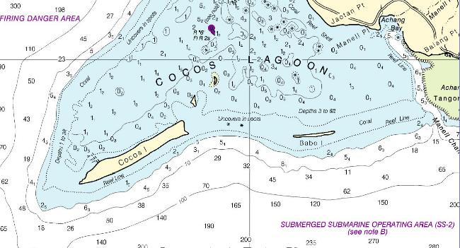 NOAA Nautical Map
