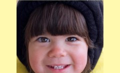 Adorable browneyed girl, photo credit: Pat Mingarelli