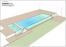 Perspective projet piscine Nouakchott