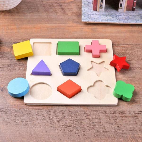 Geometric Educational Wooden Puzzle Toy 4