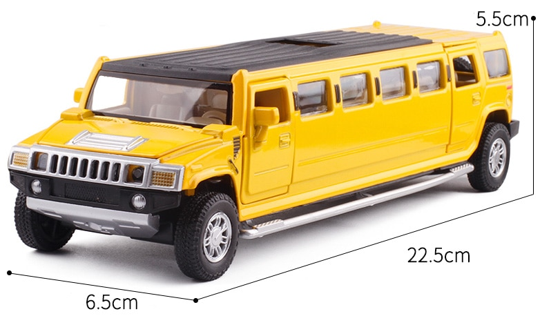 LED Hummer Diecast Car Toy