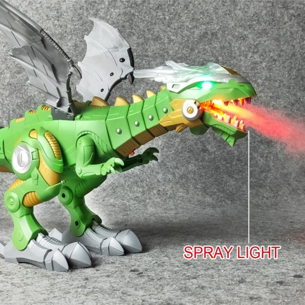 Fire Dragon Electronic Action Toy 7