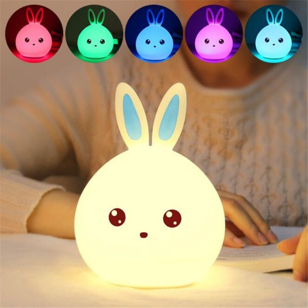 Baby's Rabbit Shape LED Night Light 1