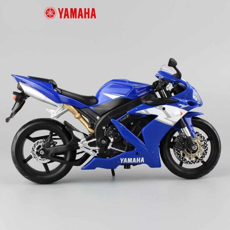 Yamaha Supercross YZF R1 Model Toy Motorcycle 5